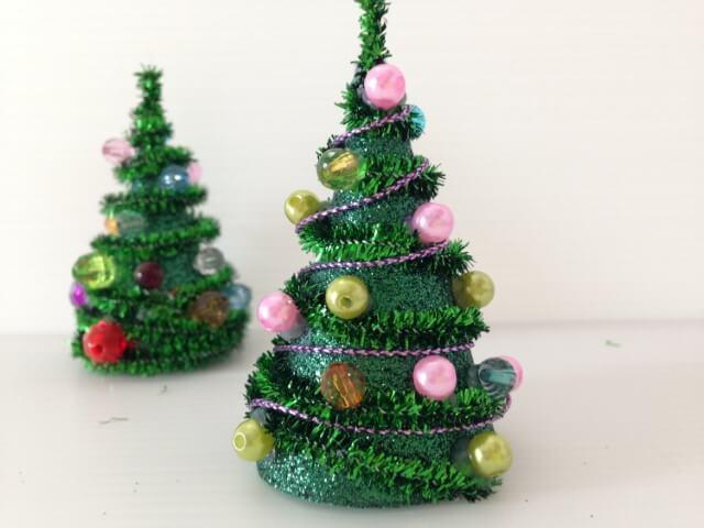 Árvore de natal artesanal mini Foto de YouTube