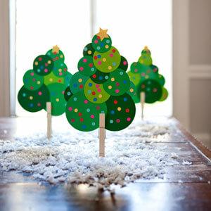 Árvore de natal artesanal pequenas de prendedor de madeira Foto de Pinterest