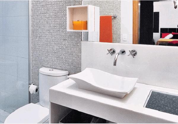 Cuba para banheiro com design diferenciado