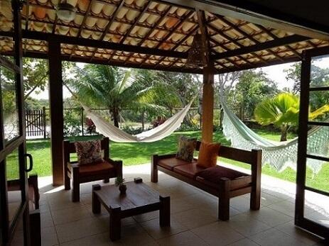 Aproveite a luminosidade natural na sua casa de praia Foto de Imóveis Bahia