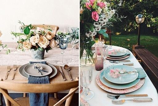 Como montar mesa de jantar completa