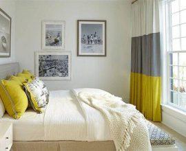 Cortinas para quarto encantam a decoração do ambiente