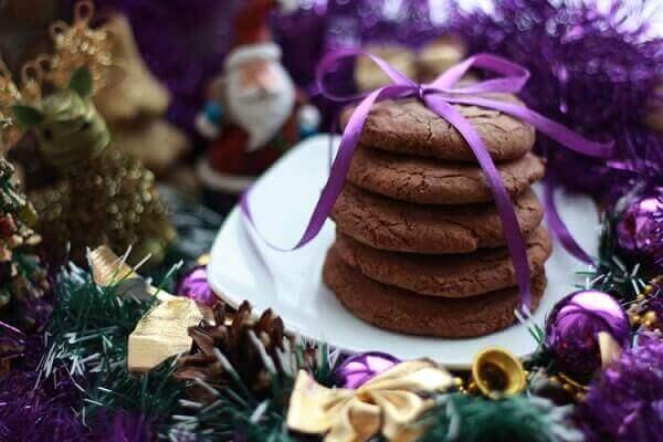 Decoração de natal simples e barata cookies