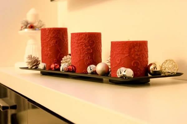 Decoração de natal simples e barata decora ambiente