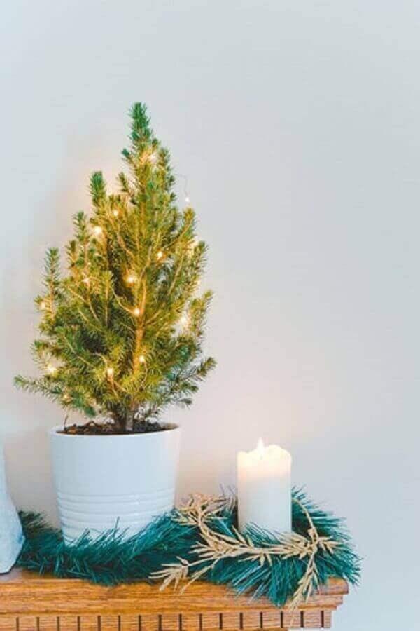 Decoração de natal simples e barata para cantinho da sala