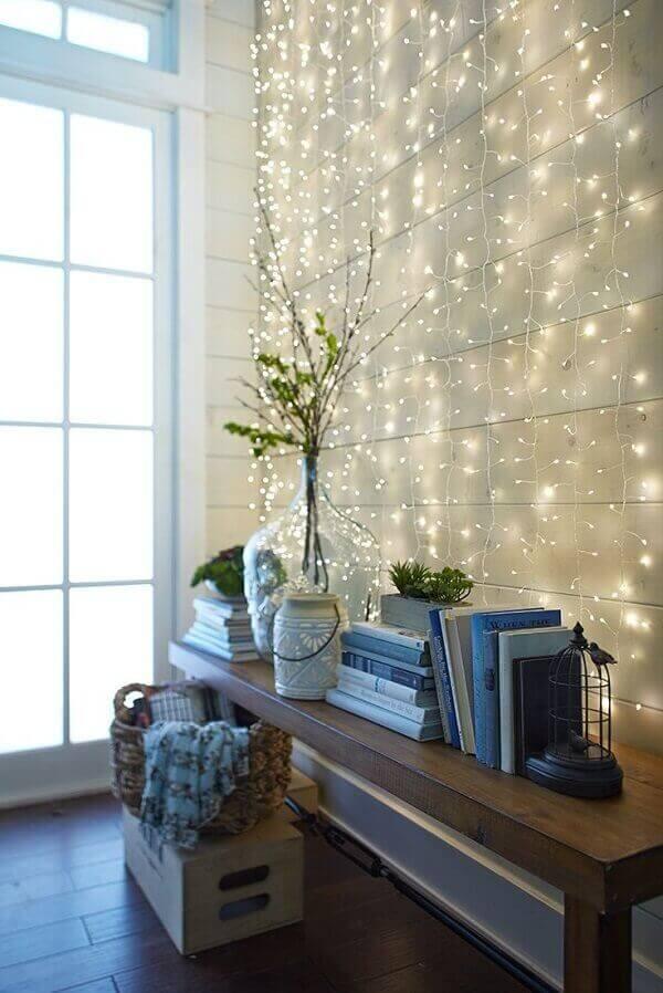 Decoração de natal simples e barata para sala de estar