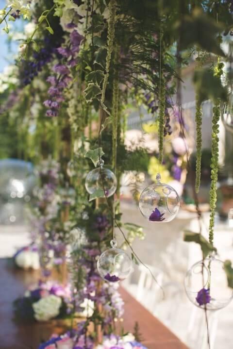 Decoração natural em festa jardim encantado Foto de Kara's Party Ideas