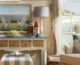 Elementos típicos praianos ficam ótimos na decoração de casa de praia Foto de Carro de Mola