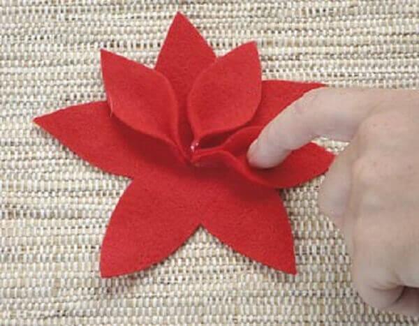 Flor de natal petadas