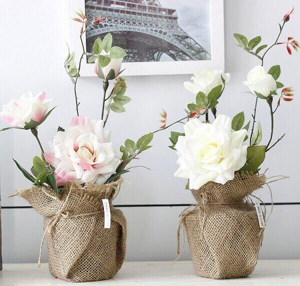0ce2d3da9 Flores Artificiais  +50 Arranjos Incríveis para Decorar