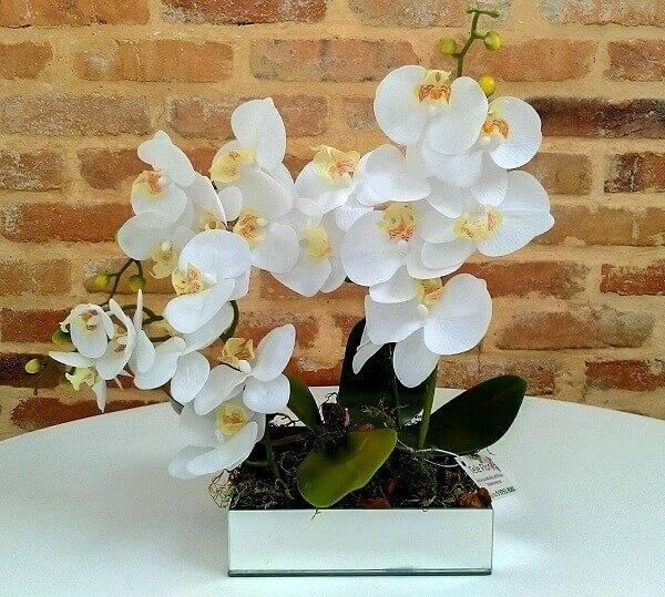 Flores Artificiais orquídeas