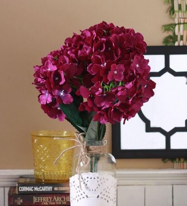 Flores artificiais buquê