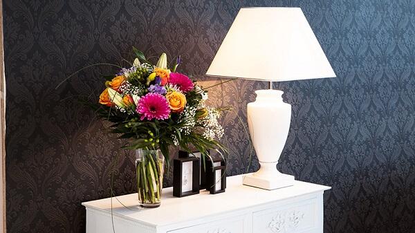 Flores artificiais decoração