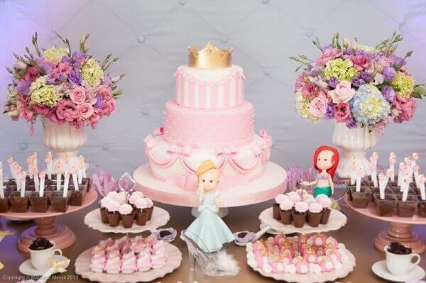 Ideias criativa para festas das princesas