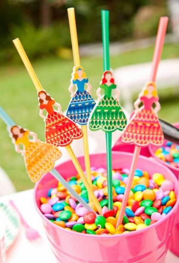 Ideias criativas com docinhos coloridos