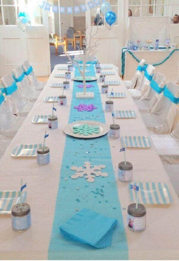 Ideias criativas mesa grande para decoração