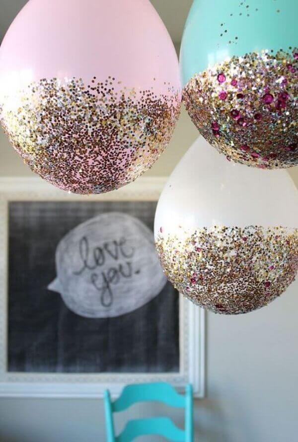 Ideias criativas para balão de festa