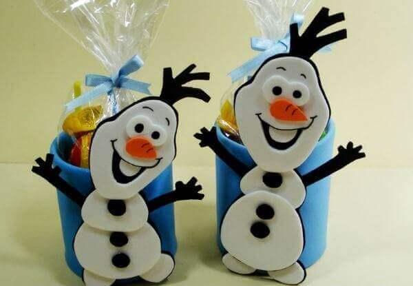 Ideias criativas para lembrancinhas festa frozen