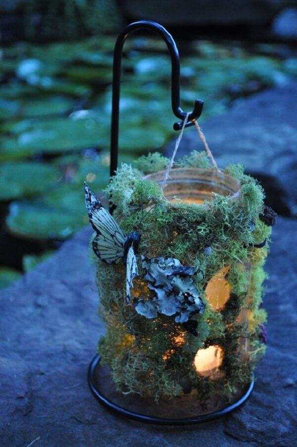 Ilumine a festa jardim encantado com peças especiais