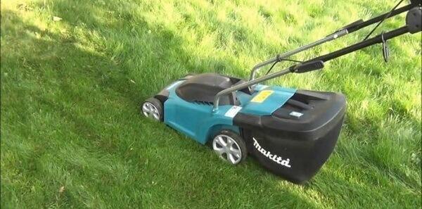 Jardinagem Carrinho cortador de grama com caixa acoplada