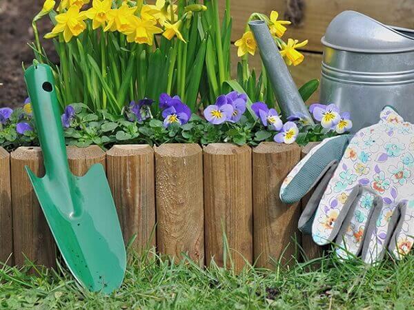 Jardinagem Ferramenta e luva