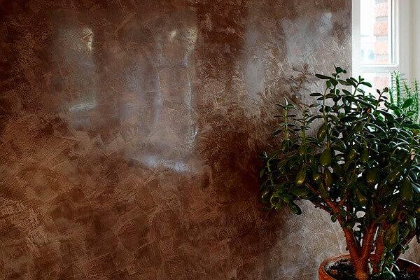 Marmorato marrom para decoração de salas