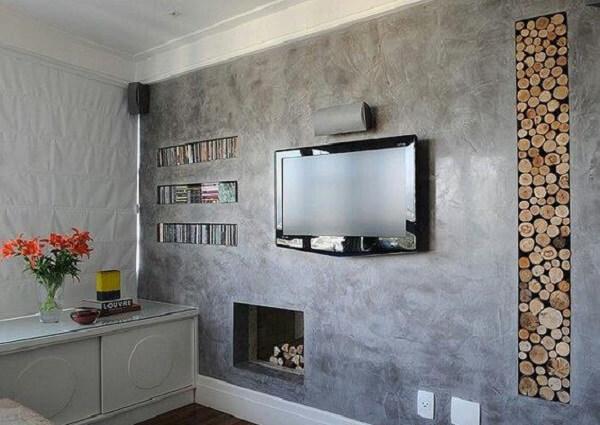 Marmorato na sala