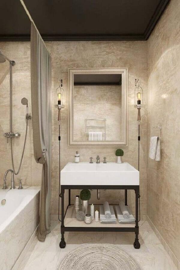 Marmorato para banheiro pequeno