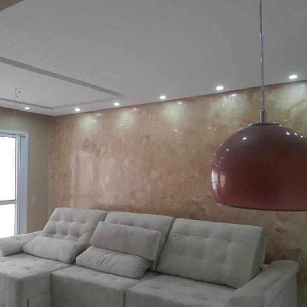 Marmorato para decoração sala de estar