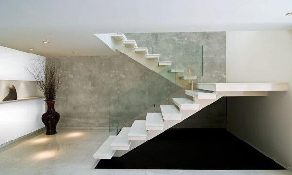 Marmorato para escada