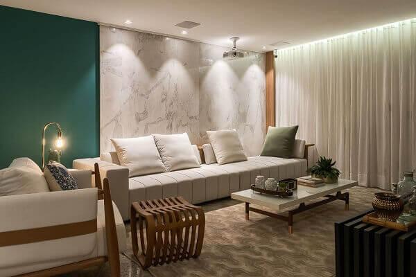 Marmorato para painél de mármore branco