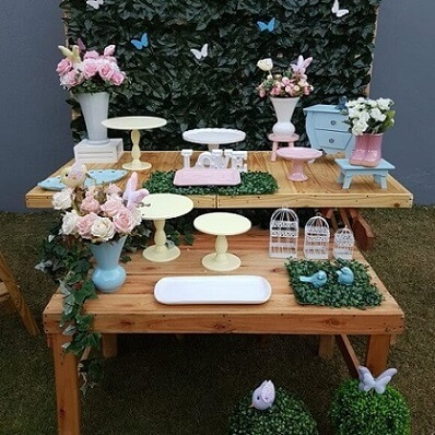 Mesa em festa jardim encantado externa Foto de Imaginar & Festejar