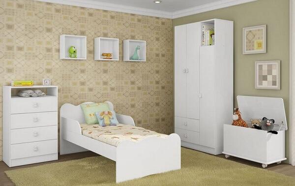 Nichos para quarto infantil simples