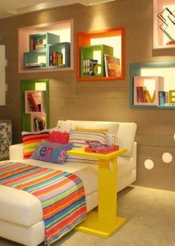 Nichos para quarto moderno