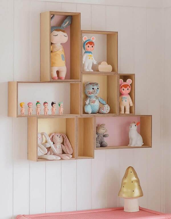 Nichos para quarto na parede