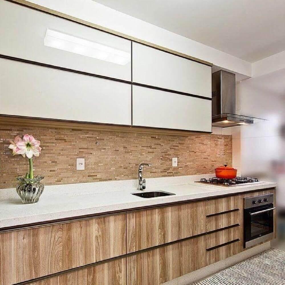 armário de cozinha planejado em marcenaria Foto Mendonça Pinheiro Interiores