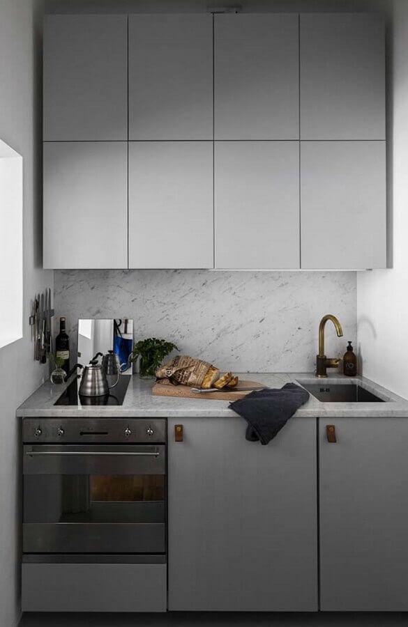 armário modelo para cozinha planejada pequena Foto Efl Furniture
