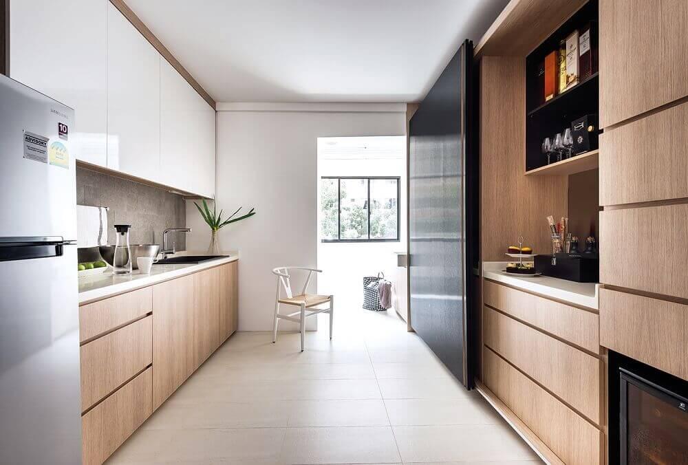 armário planejado de cozinha em marcenaria Foto VodkaRouge
