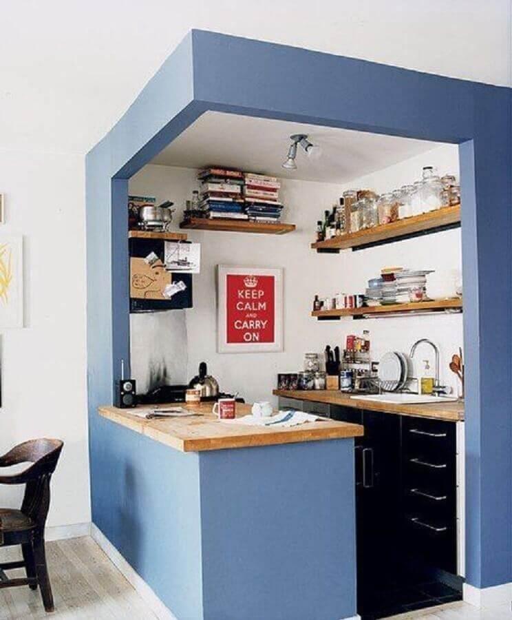 cozinha planejada para apartamento pequeno Foto DeducTour