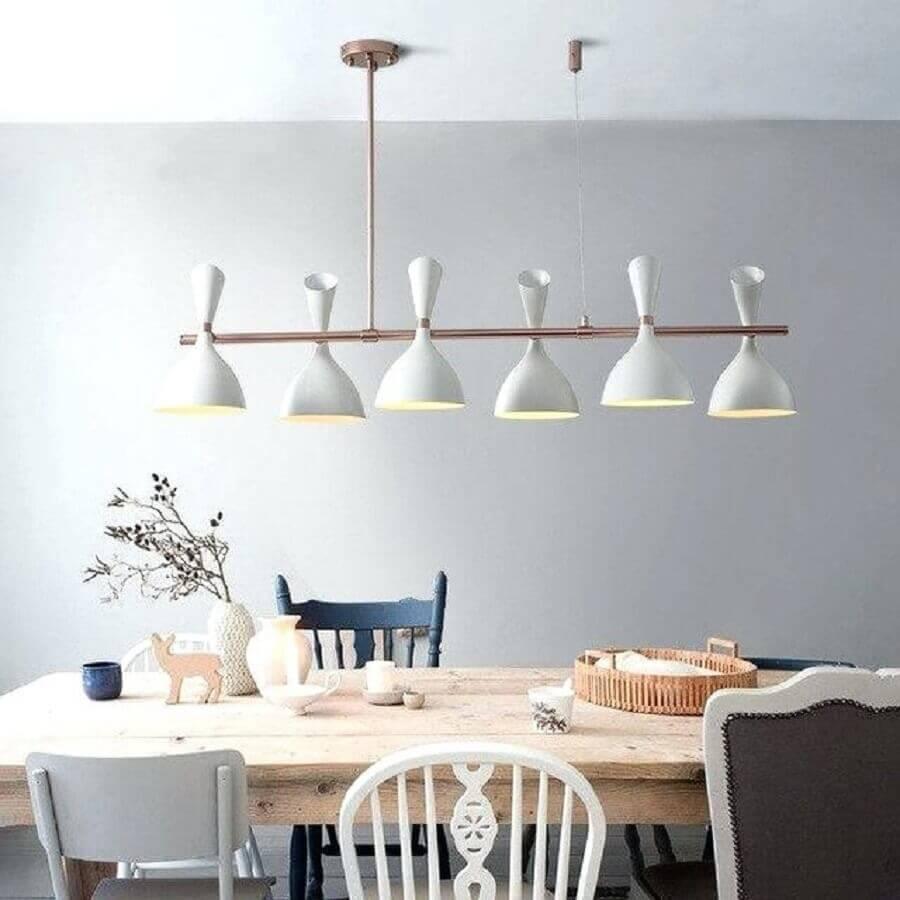 decoração com modelos diferentes de cadeiras para sala de jantar modernas Foto Save My Tail