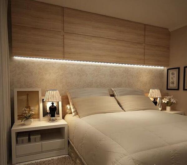 Decoração para quartos pequenos com móveis planejados