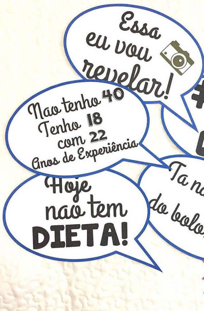 Plaquinhas Para Festa Confira 67 Modelos E Dicas De Frase
