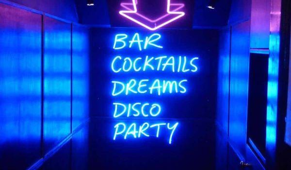 Lâmpadas de led para festa neon