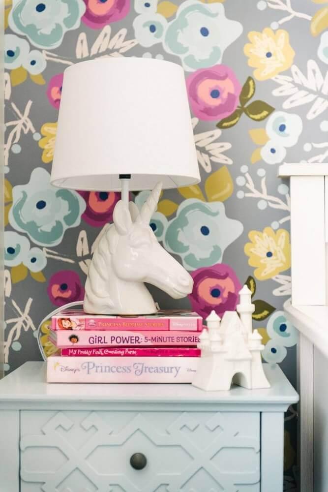 modelo diferente de papel de parede floral Foto Design Loves Detail