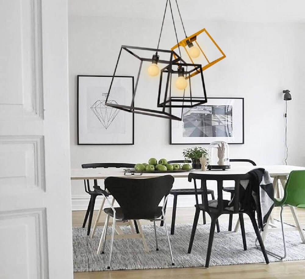 modelos arrojados de pendentes para decoração de sala de jantar moderna Foto Title Loan Fremont