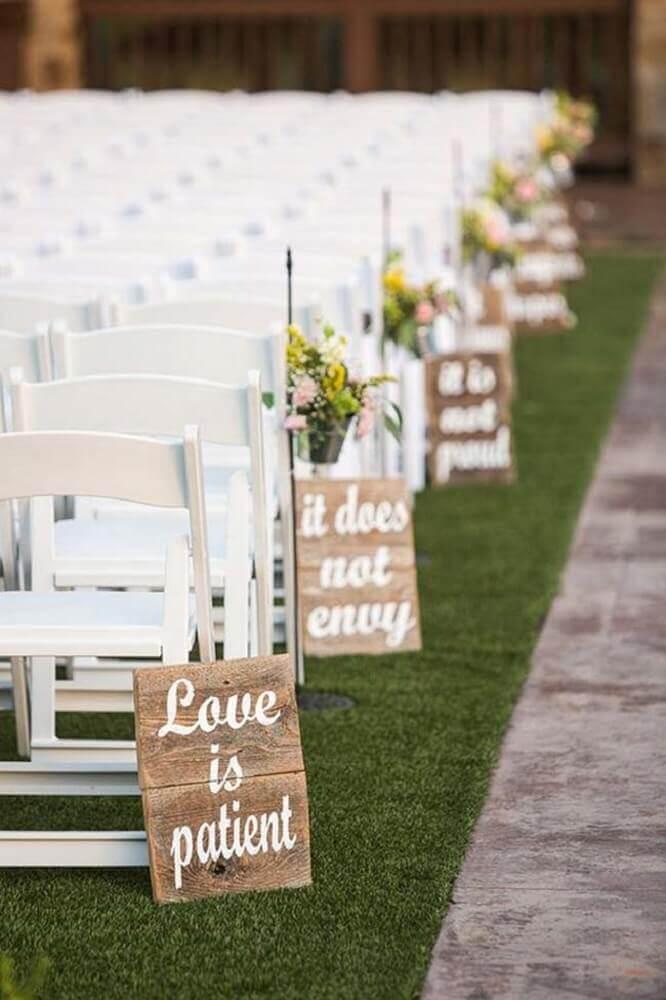 plaquinhas de festa para decoração de casamento Foto Wedding Beautiful
