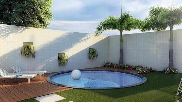 As plantas para jardim complementam a decoração