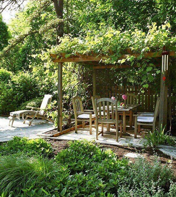 As plantas para jardim enfeitam o espaço externo da residencia
