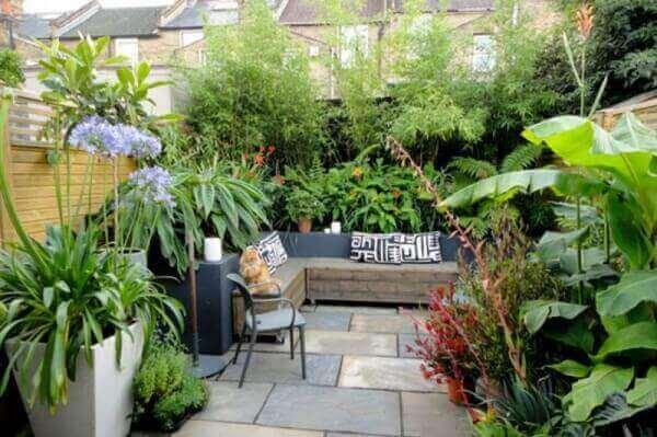 As plantas para jardim podem transformar pequenos espaços