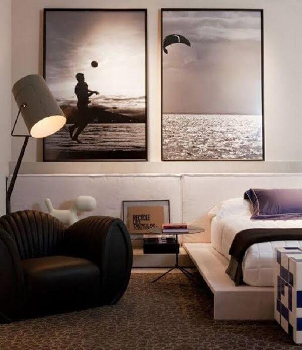 Quadros para quarto feitos com fotografia